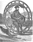 Hemming's Unicycle - 1869 / Wikipedia